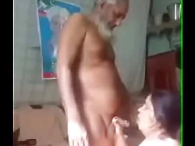 Paki oldman on every side maid