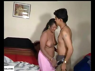 Indian boy fucking less his mother and aunt