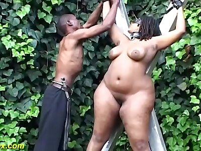 revolutionary bbw african outdoor bdsm lesson