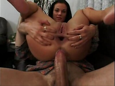 Beautiful Andrea Hercogova anal gape