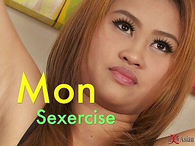 Asian Cutie Mon Simply Sexercise