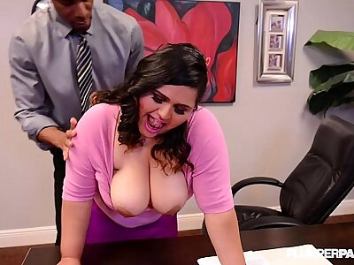 BBW Latina Berth Slut Gets Fucked Overwrought Brass hats atop Chest of drawers