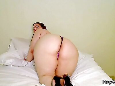 BBW StepSister Masturbates For You JOI - Fat BBW Debar Roleplay