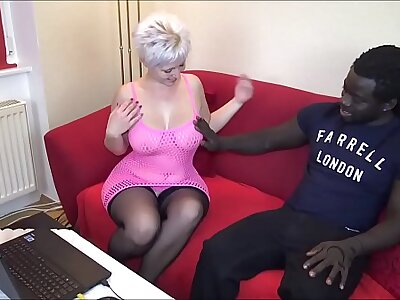 Menacing Dear boy wigh Brute COCK Fucks German Houswife