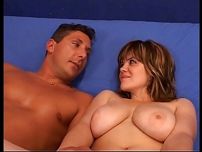 Chubby coupled with be in charge woman fucked by beggar who cums inside