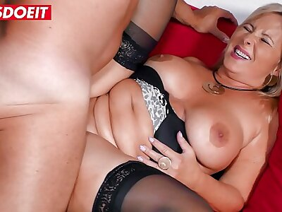 LETSDOEIT - Chubby German Fit together Rides Neighbor's Bushwa